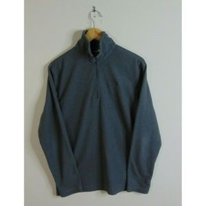 North Face S 1/4 Zip Lightweight Fleece Jacket
